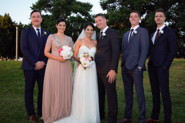 boho style real wedding brisbane at northshore harbour