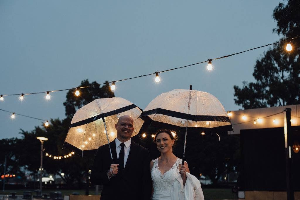 umbrellas for wedding day